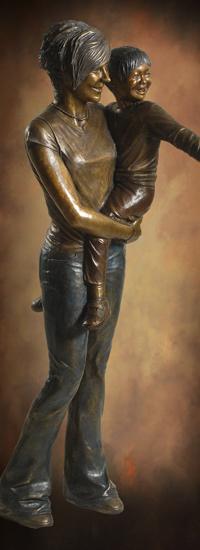 Figurative Bronze Sculptures Of Adults Life Size Bronze