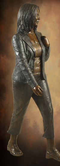 Figurative Bronze Sculptures Of Adults Life Size Bronze